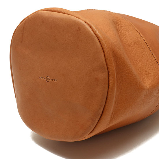 ARTS&CRAFTS[アーツアンドクラフツ]DRAW STRINGS POUCH/M HORSE LEATHER