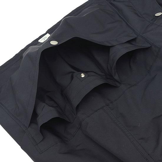 SASSAFRAS[ササフラス]Whole Hole Jacket Memory Oxford