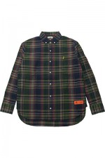 melple[メイプル]MADRAS B.D SHIRTS MP009