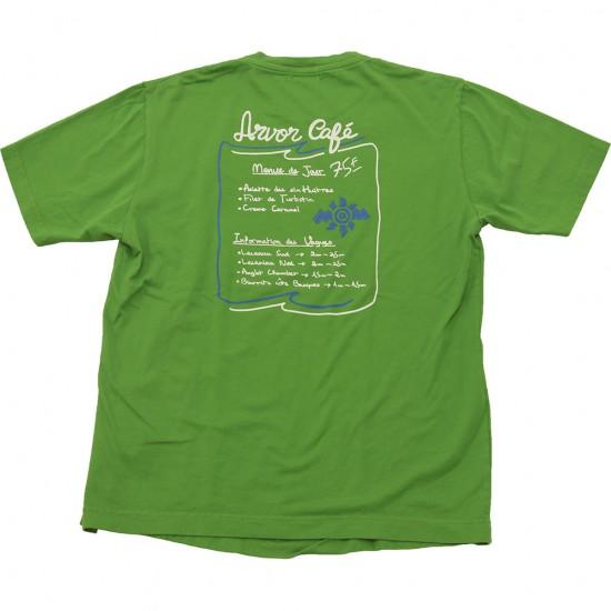ARVOR MAREE[アルヴォマレー]PRINT TEE ARVOR CAFE