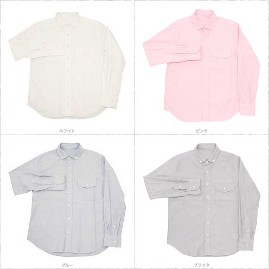 Direction[ディレクション] プレミアムオックスフォードB.Dシャツ