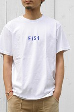 grown in the sun[グローンインザサン]プリントTee FISH‐SS
