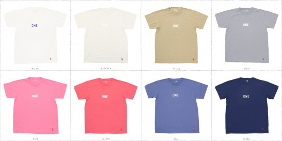 grown in the sun[グローンインザサン]プリントTee ONE‐SS