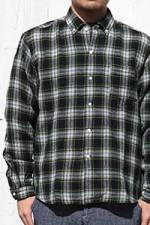 SUNSHIINE+CLOUD[サンシャインクラウド]ニューウエストコーストボタンダウンシャツ S2K-1341