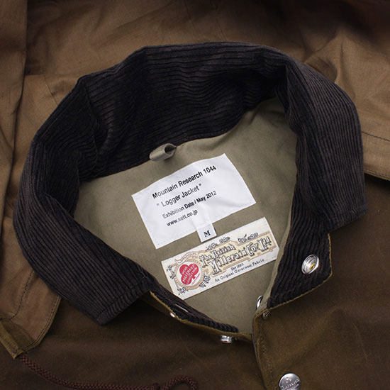 MOUNTAIN RESEARCH[マウンテンリサーチ]ロガージャケット MTR-1044