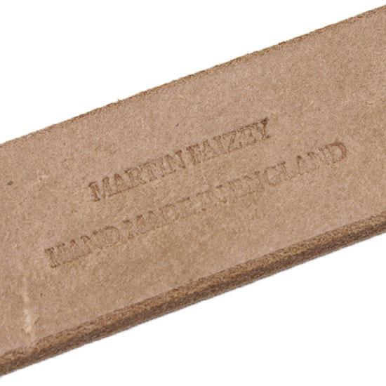 MARTIN FAIZEY[マーティンフェイジー]クイックリリースベルト ナチュラルフルグレインオークバーク