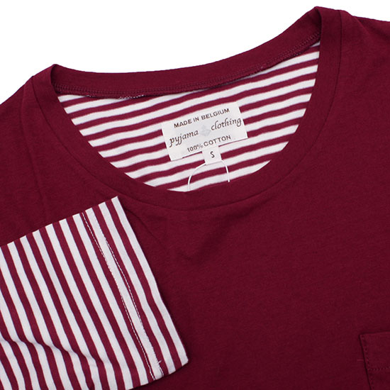 pyjama clothing[ピジャマクロージング]2トーンTee ストライプ