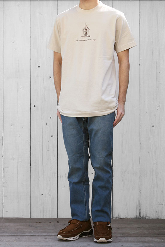 "MOUNTAIN RESEARCH[マウンテンリサーチ]S/S Tee ""Flying Lodge"" MTR-1711"