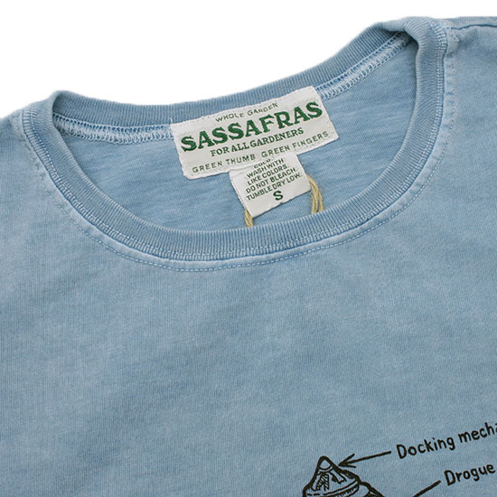 SASSAFRAS[ササフラス]スペースガーデナーT
