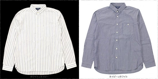 meanswhile[ミーンズワイル]LOOP DOWN SHIRT MW-SH16104