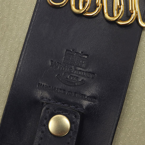 Whitehouse Cox[ホワイトハウスコックス]Key Case With Ring S9692
