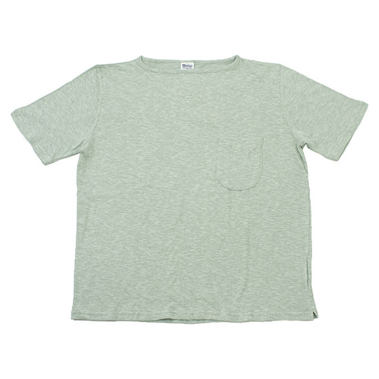 TIEASY AUTHENTIC CLASSIC[ティージーオーセンティッククラシック]KACHION COTTON BOAT NECK T