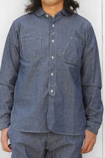 BARLEY HARVEST SEASON storehouse[バリーハーヴェストシーズンストアハウス] ENGINEER SHIRTS CHAMBREY