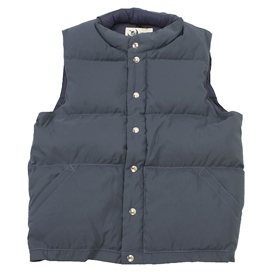 Crescent Down Works[クレセントダウンワークス]Seattle Vest 50% Less Down 60/40 Cloth