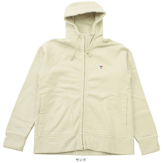 ARVOR MAREE[アルヴォマレー]HEAVY SWEAT W-ZIP PARKA