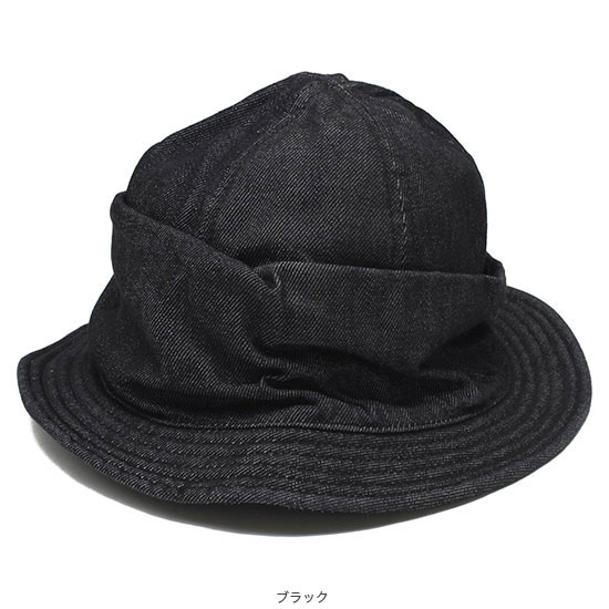 DECHO[デコー]MOUNTAIN HAT ONE WASH DEN04