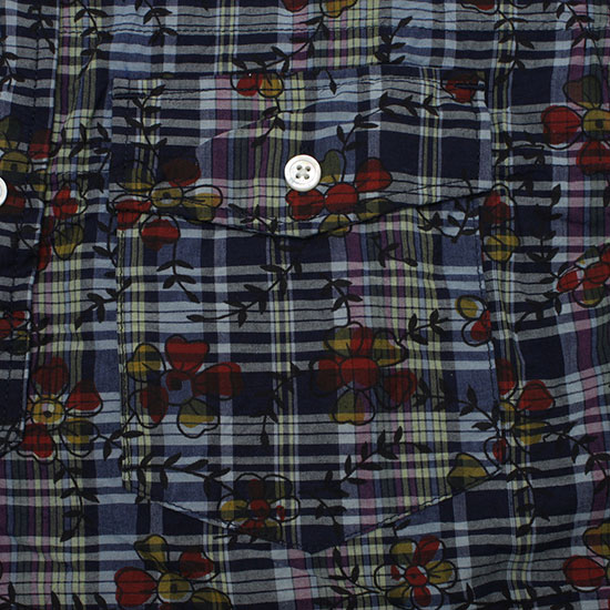 Engineered Garments[エンジニアド ガーメンツ]POPOVER B.D SHIRT FLOWER