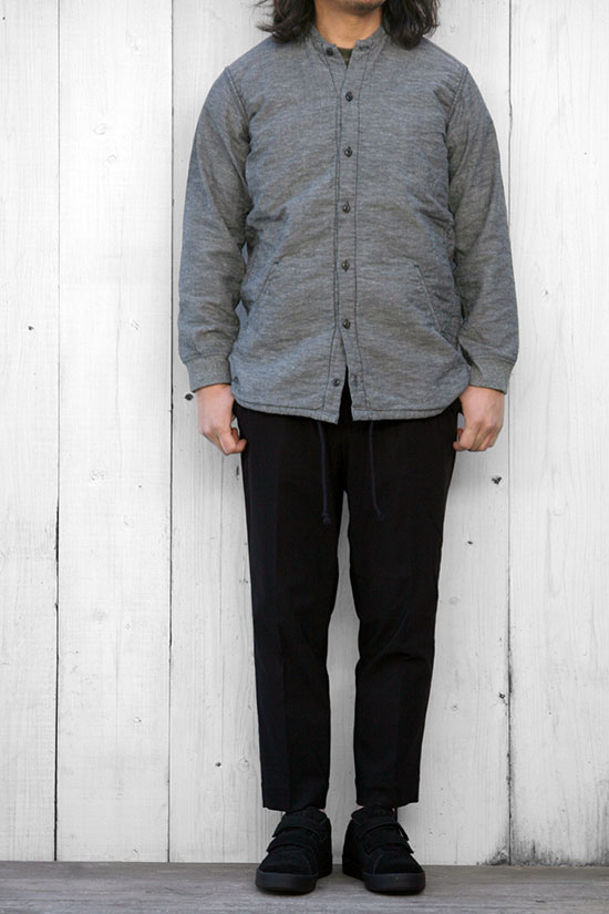 senelier[セネリエ]squaters shirts COTTON LINEN
