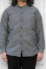 senelier[セネリエ]squaters shirts COTTON LINEN