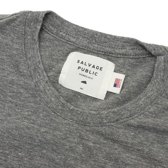 SALVAGE PUBLIC[サルベージパブリック] DIAMOND HEAD POCKET-T