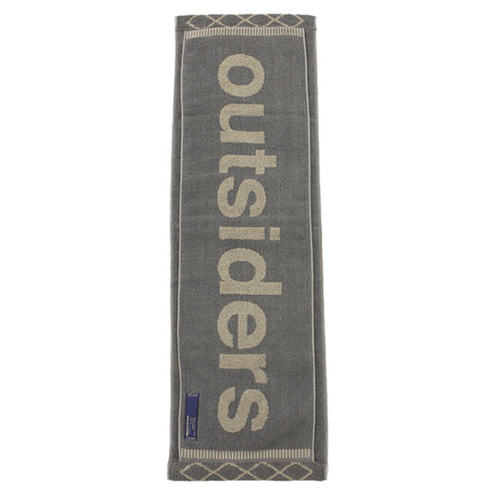 meanswhile[ミーンズワイル]LOOP TOWEL OUTSIDERS