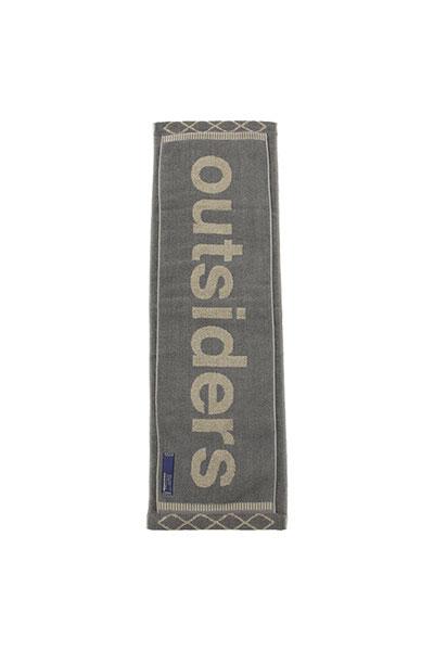 meanswhile[ミーンズワイル]LOOP TOWEL OUTSIDERS
