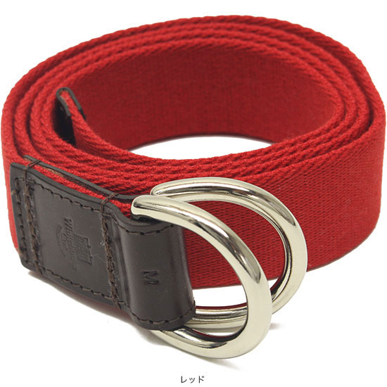 Whitehouse Cox[ホワイトハウスコックス]B-2365 D-ring Webbing Belt