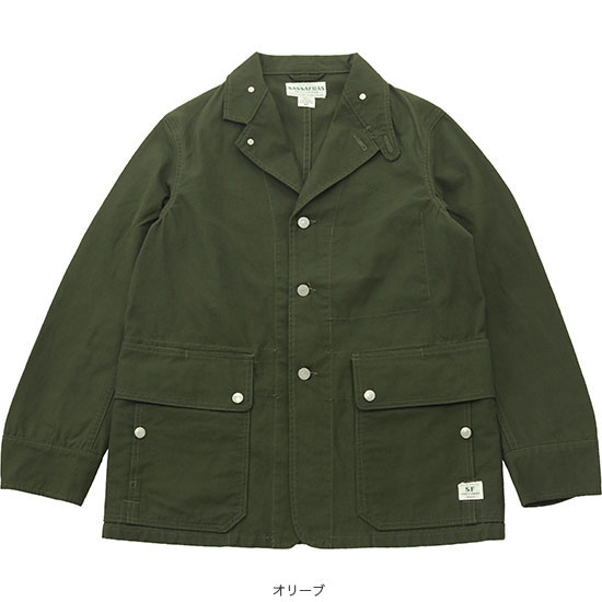 SASSAFRAS[ササフラス]Fall Leaf Jacket 171250