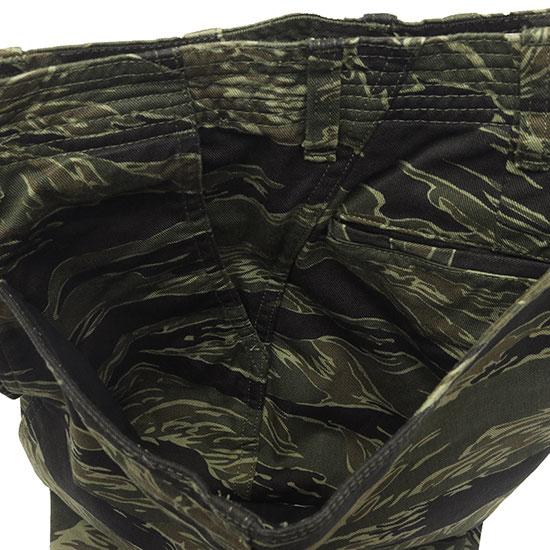 SASSAFRAS[ササフラス]Fall Leaf Sprayer Pants Tiger Twill