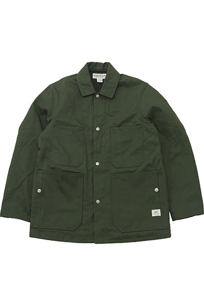 SASSAFRAS[ササフラス]Green Thumb Jacket Drill Cloth