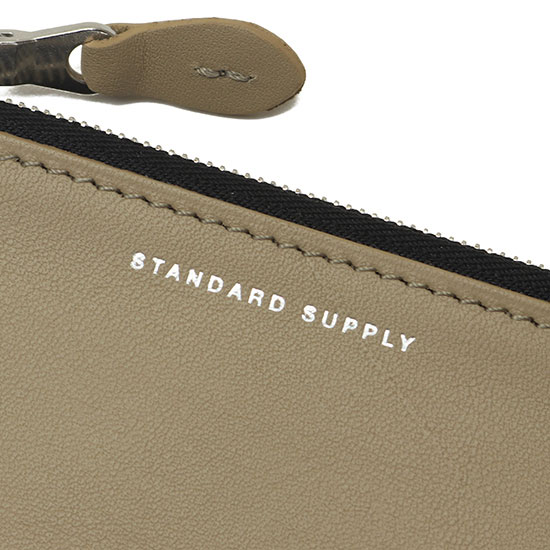 STANDARD SUPPLY[スタンダードサプライ]ZIP TOP CARD CASE SMALL