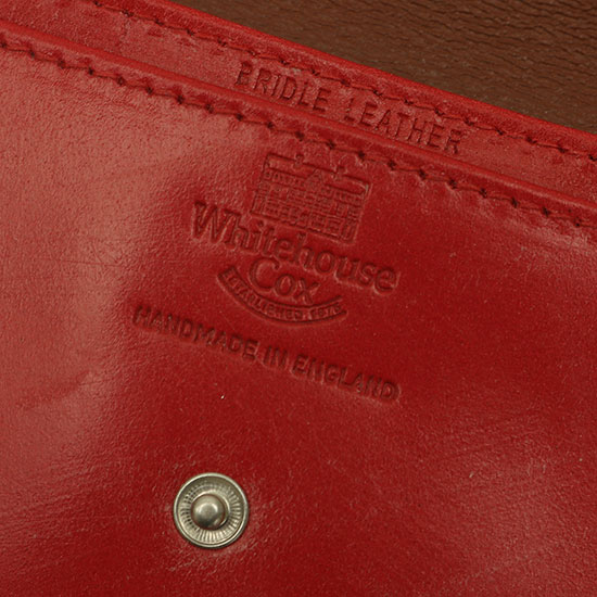 Whitehouse Cox[ホワイトハウスコックス]Name Card Case S1751
