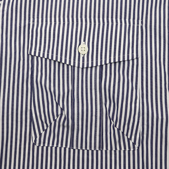 Direction[ディレクション]LONDON STRIPE B.D SHIRTS Bload cloth 3402014