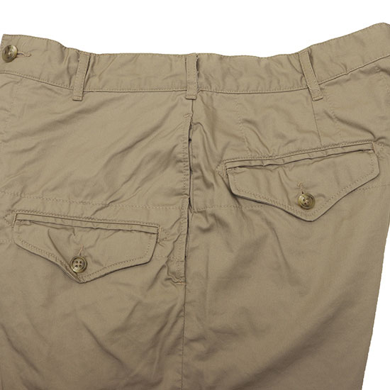 Engineered Garments[エンジニアド ガーメンツ]Ghurka Short High Count Twill