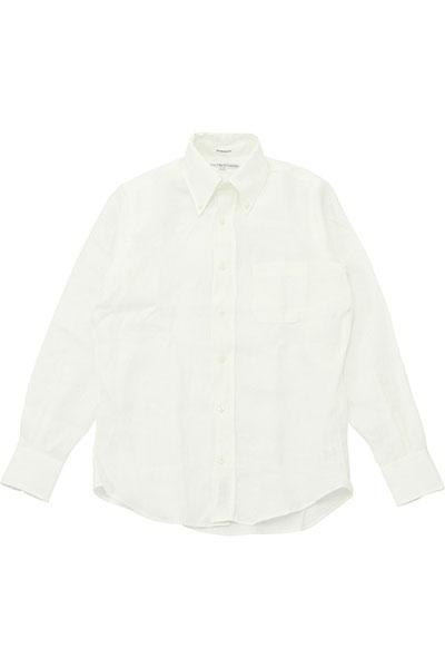 INDIVIDUALIZED SHIRTS[インディビジュアライズドシャツ]LINEN B.D SHIRT