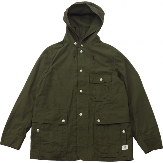 SASSAFRAS[ササフラス]Seeds Carry Bud Jacket Ripstop 181296