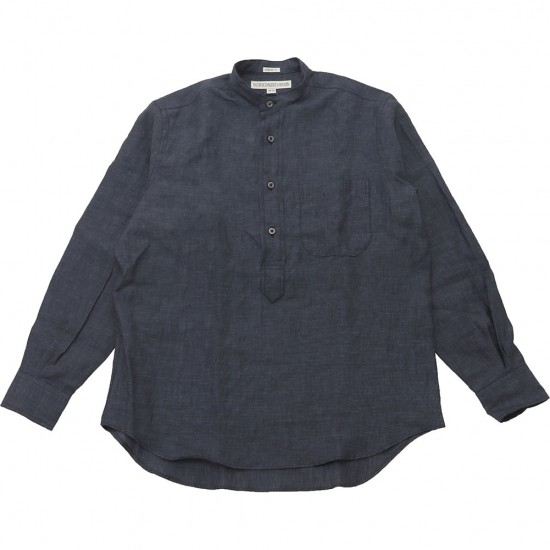 INDIVIDUALIZED SHIRTS[インディビジュアライズドシャツ]LINEN PULL OVER CLASSIC FIT