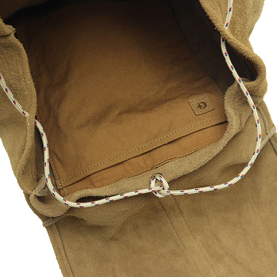 GHOST DANCE[ゴーストダンス]SUEDE BACKPACK GD-1546