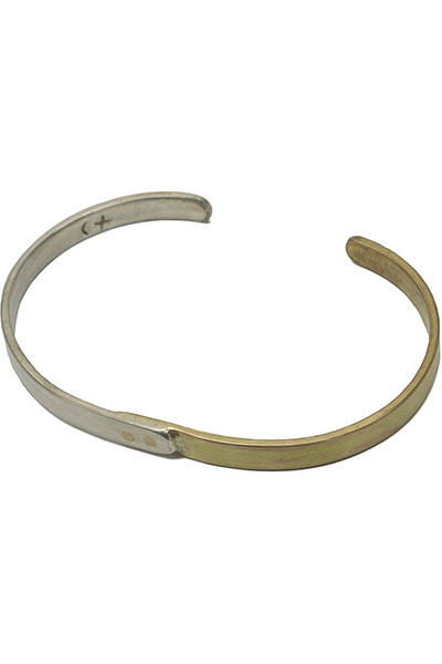GHOST DANCE[ゴーストダンス]Bangle Silver and Brass