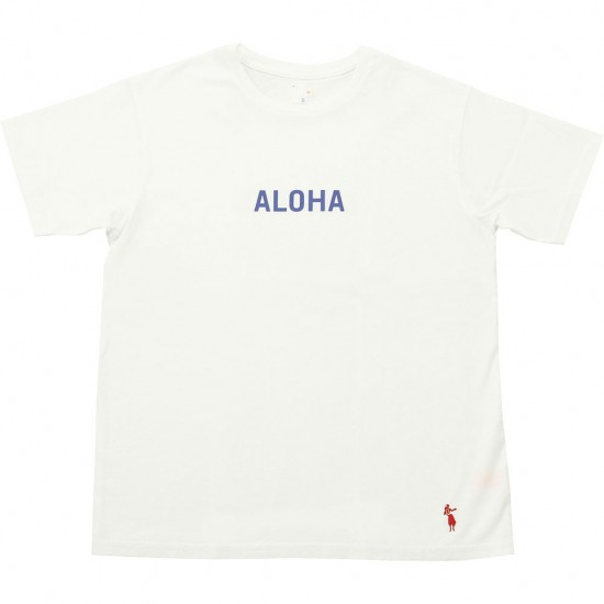 grown in the sun[グローンインザサン]Short Sleeve T-Shirts ALOHA MAHALO