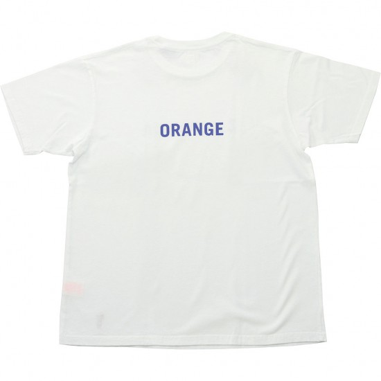 grown in the sun[グローンインザサン]Short Sleeve T-Shirts CALIFORNIA ORANGE