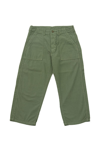 grown in the sun[グローンインザサン]CROPPED BUSH PANTS