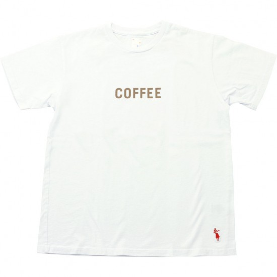 grown in the sun[グローンインザサン]Short Sleeve T-Shirts COFFEE MILK