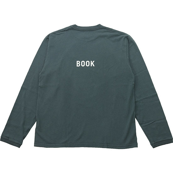 grown in the sun[グローンインザサン]Long Sleeve T-Shirts COOK BOOK