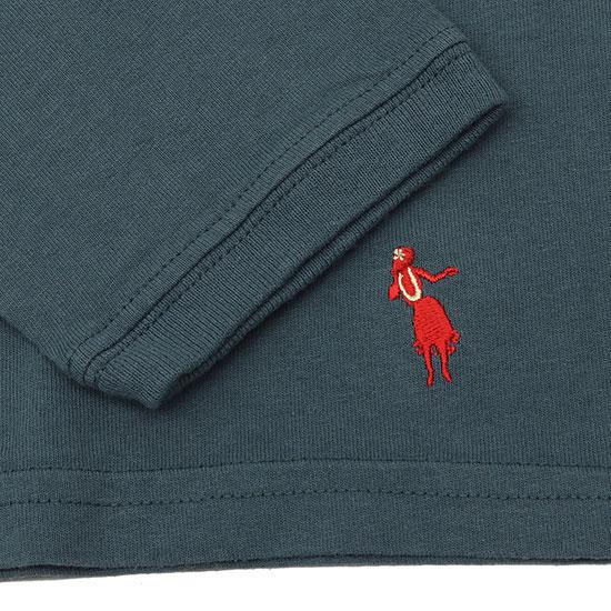 grown in the sun[グローンインザサン]Long Sleeve T-Shirts ALOHA MAHALO