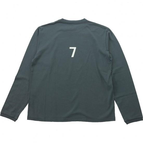 grown in the sun[グローンインザサン]Long Sleeve T-Shirts LUCKY 7