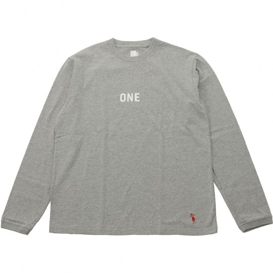grown in the sun[グローンインザサン]Long Sleeve T-Shirts ONE FIN