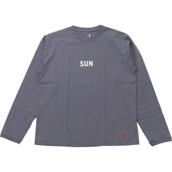 grown in the sun[グローンインザサン]Long Sleeve T-Shirts SUN DAY