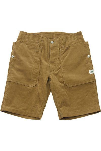 SASSAFRAS[ササフラス]Fall Leaf Sprayer Pants 1/2 Summer Corduroy