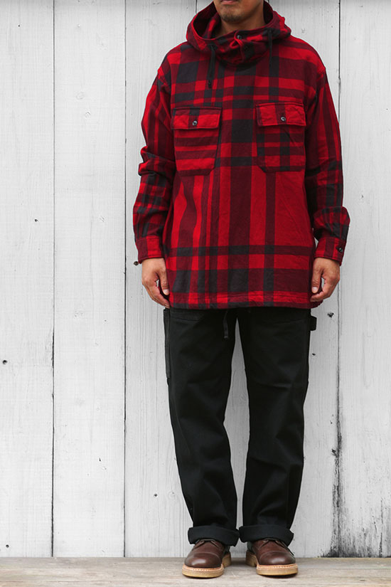 Engineered Garments[エンジニアド ガーメンツ]Cagoule Shirt Big Plaid